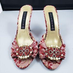 STEVEN by STEVE MADDEN slip on heels
